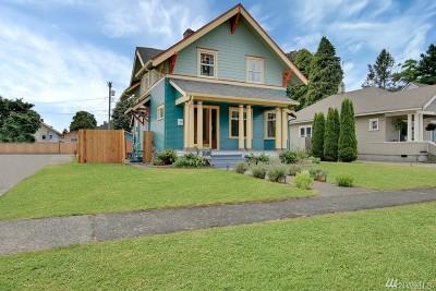 Tacoma Single Family Home For Sale: 814 E Wright Ave