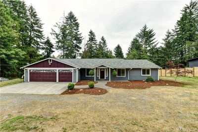Olympia Single Family Home For Sale: 7410 Puget Beach Rd NE