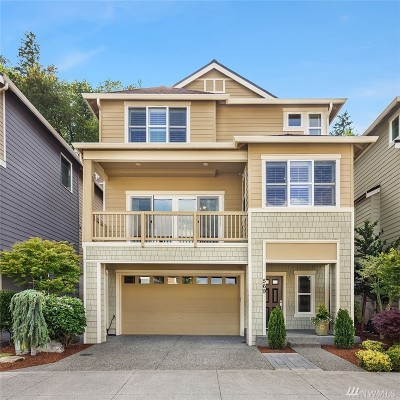 Issaquah Single Family Home For Sale: 569 Alpine Ridge Place NW