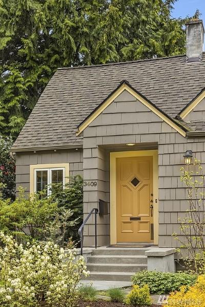 Seattle Single Family Home For Sale: 3409 W Laurelhurst Dr NE