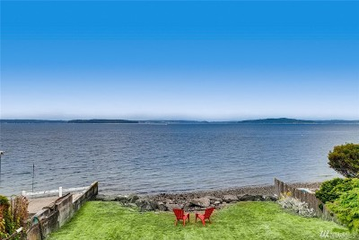 Seattle Single Family Home For Sale: 5633 Beach Drive SW