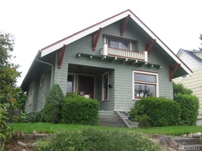 Pierce County Single Family Home For Sale: 3711 N 27th St