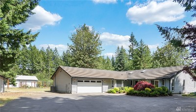 Olympia Single Family Home For Sale: 8640 Burns Dr SW