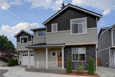 Edmonds Condo/Townhouse For Sale: 22005 80th Place W