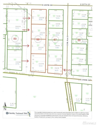 Residential Lots & Land For Sale: 1235 S 207th St