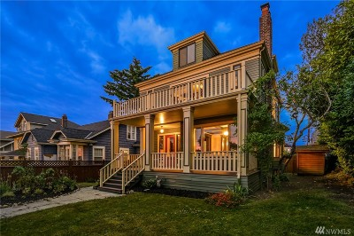 Seattle Single Family Home For Sale: 2712 Harvard Ave E