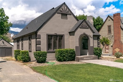 Wenatchee Single Family Home For Sale: 764 Monroe St