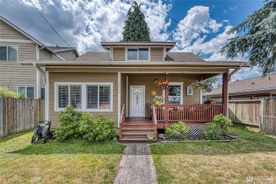 Puyallup Single Family Home For Sale: 1608 E Pioneer Ave
