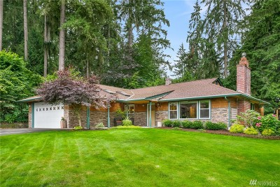 Woodinville Single Family Home For Sale: 18205 167th Ave NE