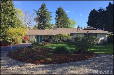 Olympia Single Family Home For Sale: 4441 64th Ave SE