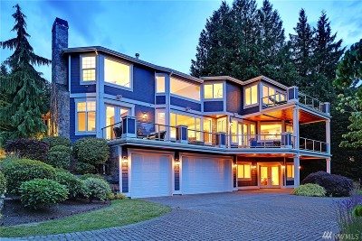 Mercer Island WA Single Family Home For Sale: $2,750,000