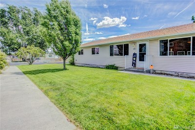 Moses Lake Single Family Home For Sale: 614 S D St