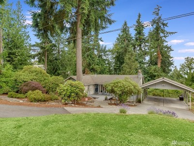 Sammamish Single Family Home For Sale: 229 210th Place NE