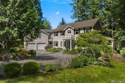 Bainbridge Island Single Family Home For Sale: 8576 NE Grizdale Lane