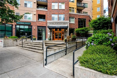 Seattle Condo/Townhouse For Sale: 5450 Leary Ave NW #361