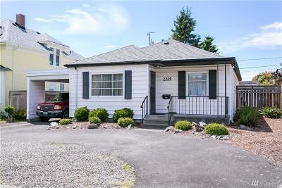 Bellingham Single Family Home Sold: 2215 Lynn St