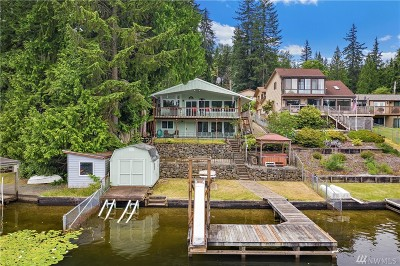 Snohomish Single Family Home For Sale: 5821 W Flowing Lake Rd