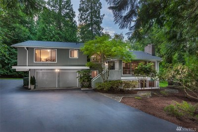 Sammamish Single Family Home For Sale: 20726 SE 24th St