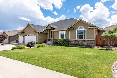 Wenatchee Single Family Home For Sale: 2107 Sage Grouse Rd