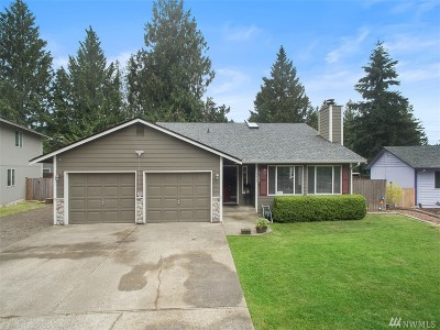Bonney Lake Single Family Home For Sale: 5425 Rainier Dr E