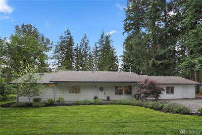 Snohomish Single Family Home For Sale: 7509 197th St SE