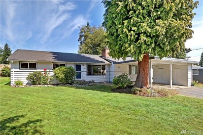 Shoreline Single Family Home For Sale: 19838 19th Ave NW