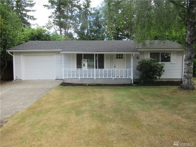 Port Orchard Single Family Home For Sale: 3931 Colonial Lane