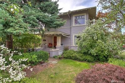 Seattle Single Family Home For Sale: 1701 E John St