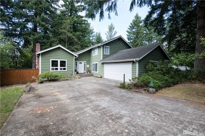 Olympia Single Family Home For Sale: 3727 Goldcrest Heights NW