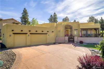 Orondo Single Family Home For Sale: 605 Desert Canyon Blvd