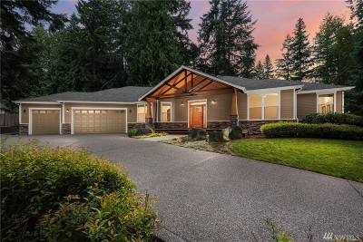 Lacey Single Family Home Pending: 2744 Carpenter Rd SE