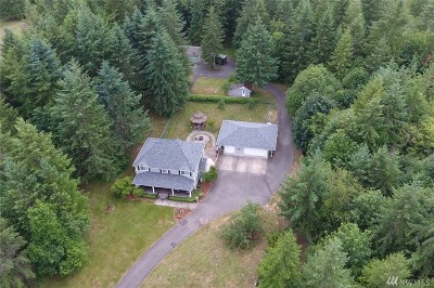 Olympia Single Family Home For Sale: 11121 Waddell Creek Rd SW