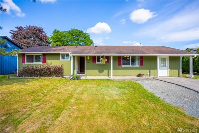 Mount Vernon Single Family Home Pending: 1006 Bel Air Dr