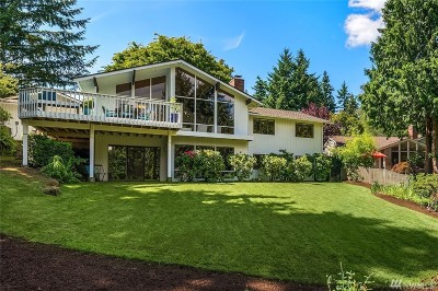 Mercer Island Single Family Home For Sale: 5708 92nd Ave SE