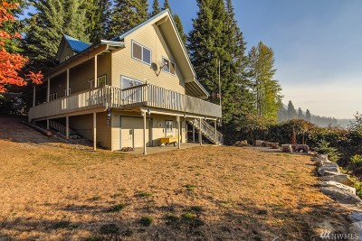 Chelan County, Douglas County Single Family Home For Sale: 14623 Fish Lake Rd