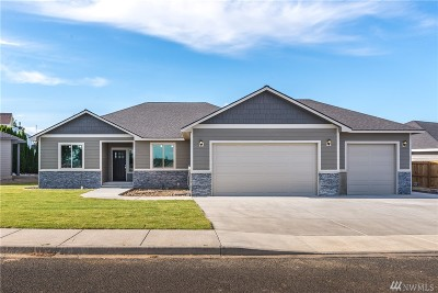 Moses Lake WA Single Family Home For Sale: $329,999