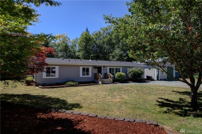 Sedro Woolley Single Family Home Pending Inspection: 22546 Mosier Rd