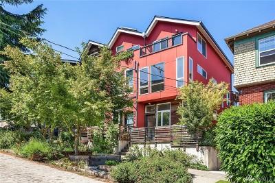 Seattle Single Family Home For Sale: 1806 E John St