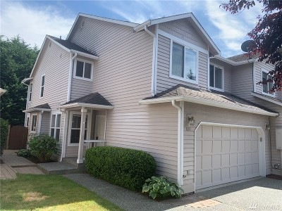 Snohomish Condo/Townhouse For Sale: 827 Pine Ave