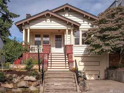 Seattle Single Family Home For Sale: 6541 Division Ave NW