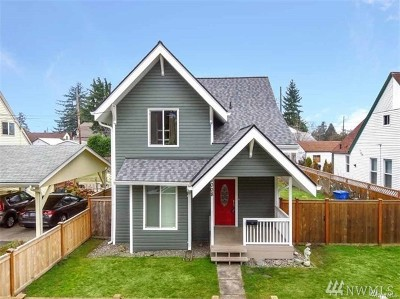 Tacoma Single Family Home For Sale: 6008 S Junett St