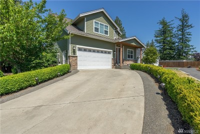 Lynden Single Family Home Contingent: 1439 Yarrow Ct