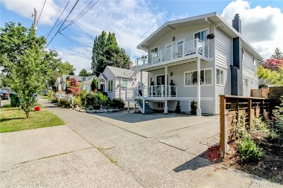 Seattle Single Family Home For Sale: 7726 Corliss Ave N