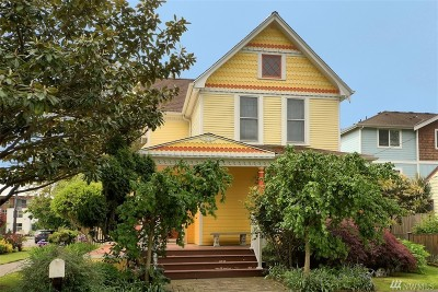 Seattle Single Family Home For Sale: 739 S Homer St