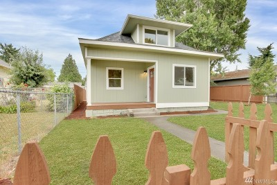 Tacoma Single Family Home For Sale: 3585 E J St