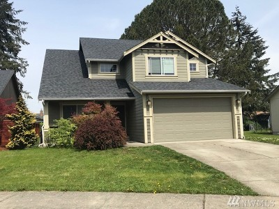Centralia Single Family Home For Sale: 1781 Westside Ct