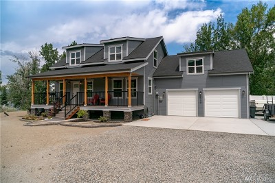 Chelan County, Douglas County Single Family Home For Sale: 3040 W Malaga Rd
