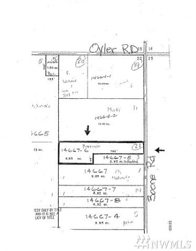 Residential Lots & Land For Sale: Boone Rd