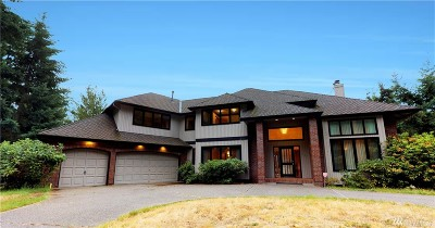 Sammamish Single Family Home For Sale: 3001 198th Ave SE