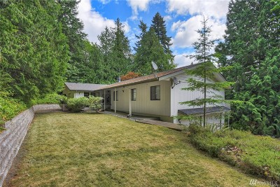 Poulsbo Single Family Home For Sale: 16826 Hallman Rd NW